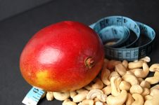 Free Mango - New Dieting 2 Royalty Free Stock Photography - 802257