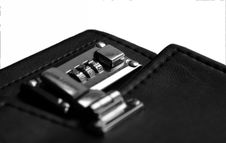 Free Business Managerial Leather Case Royalty Free Stock Photography - 803007