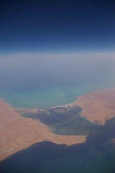 Free The Sahara Coastline Royalty Free Stock Photo - 804755