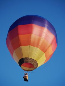 Free Colourful Hot Air Balloon Stock Photography - 804772