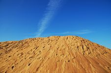 Free Sand And Sky Royalty Free Stock Photos - 804968