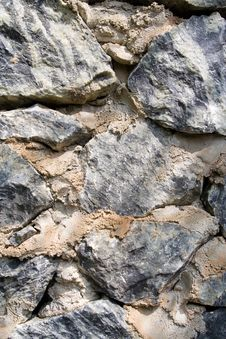 Free Stone Wall Backdrop Royalty Free Stock Photography - 805087
