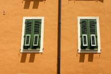Free Corsican Houses And Buildings Royalty Free Stock Image - 805196
