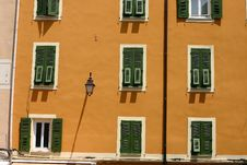 Free Corsican Houses And Buildings Royalty Free Stock Photography - 805197
