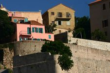 Free Corsican Houses And Buildings Royalty Free Stock Photos - 805438