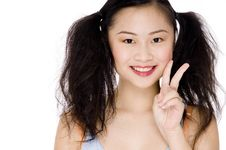 Free Asian Pose Stock Photography - 805532
