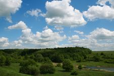Free Spring Landscape Royalty Free Stock Image - 806256