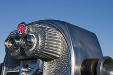 Tourist Binoculars 1 Royalty Free Stock Photo