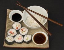 Free Sushi Royalty Free Stock Photo - 806945