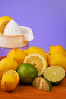 Free Lemon Lime (portrait) Royalty Free Stock Images - 807219