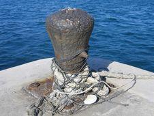 Free Bahamas Buoy Rope Stock Images - 808574