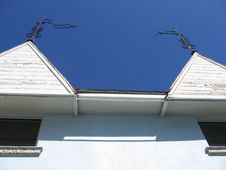Free Nassau Bahamas Roofs Stock Photo - 808640