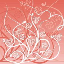 Free Floral Background, Vector Stock Photos - 808913