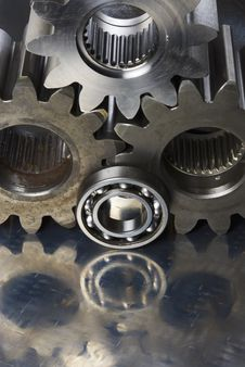 Free Mechanical Parts Connecting Stock Images - 808944