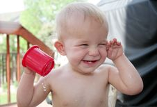Free Wet Baby Royalty Free Stock Photography - 809047