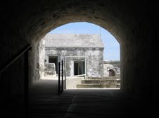 Free Fortress Archway Royalty Free Stock Photos - 809168