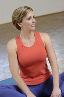 Free Woman Exercising Stock Image - 809571