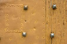 Free Door Detail Royalty Free Stock Photography - 809667