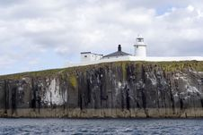 Free Lighthouse On Farne Islands Royalty Free Stock Photography - 809677