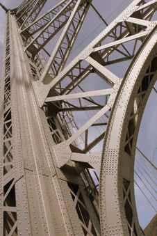 Free Bear Mountain Bridge Detail Stock Photo - 809720
