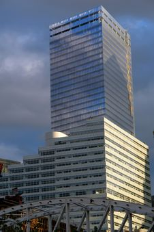 Brand New Lower Manhattan Office Building Royalty Free Stock Photo