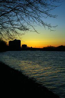 Free Charles River At Dusk Royalty Free Stock Photography - 809827