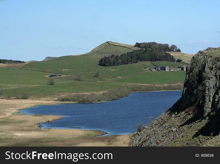 Lough in Roman Wall Land