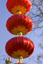 Free Red Lanterns For Chinese New Year Royalty Free Stock Image - 8000066