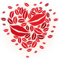 Free Heart And Kisses Stock Photos - 8000823