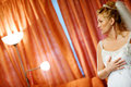 Free Bride Near The Lamps Stock Photos - 8001683