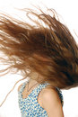 Free Flying Hair Stock Photography - 8007892