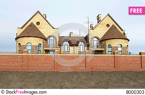 Free Modern Cottages Stock Photos - 8000303