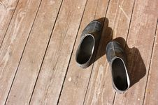 Free Tub On Wooden Floor Stock Images - 8000034