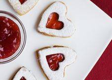 Free Heart Cookie Stock Photo - 8000050