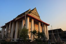 Free Ancient Buddhist Temple In Thailand Stock Photos - 8000273