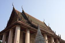 Free Ancient Temple In Bangkok Stock Images - 8000504