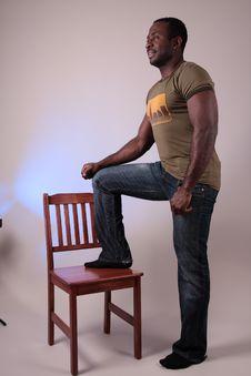 Free Man In Studio Stock Photos - 8000633