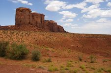 Free Monument Valley Royalty Free Stock Photography - 8000767