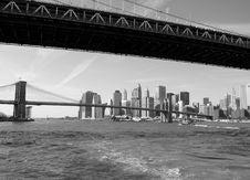 Free Bridges And Skyline Stock Images - 8000904