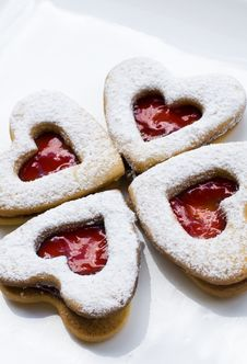 Free Heart Cookie Royalty Free Stock Images - 8001089