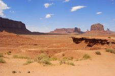 Free Monument Valley Stock Photography - 8001122
