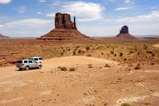 Free Monument Valley Royalty Free Stock Photo - 8001125
