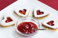 Free Heart Cookie Stock Photography - 8001162