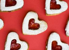 Heart Cookie Stock Photos