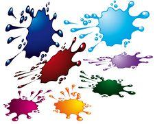 Free Grunge Splash Stock Image - 8001481