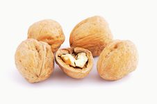 Free Group Of Nuts Royalty Free Stock Image - 8002306