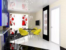 Free Modern Interior Royalty Free Stock Photo - 8002345