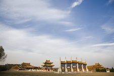 Free The Qing Dynasty Tomb Stock Photography - 8002442