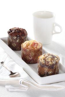 Free Three Muffins Stock Photography - 8002622