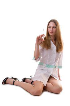 Free Pretty Nurse Stock Images - 8002744